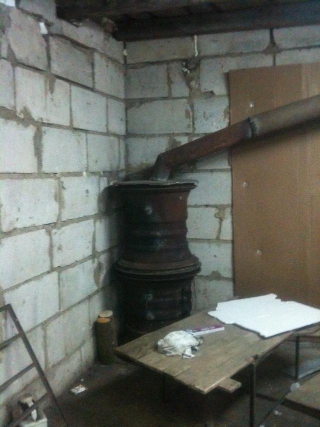Как сделать дымоход к буржуйке в гараже