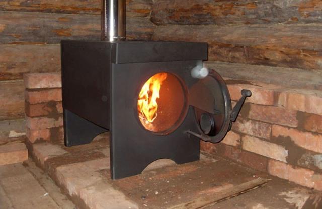 Твердотопливная печь - Фото 08