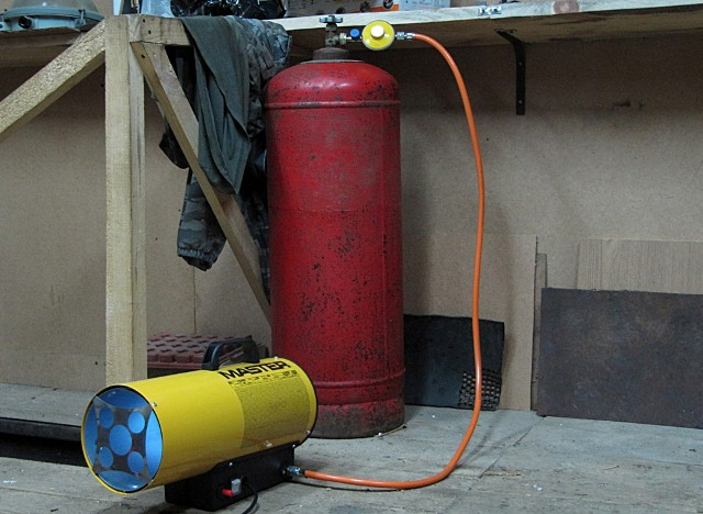 Газовое отопление гаража своими руками - Фото 05