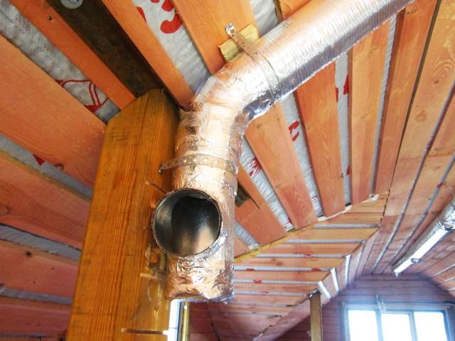 Вентиляция деревянного дома - Фото 08