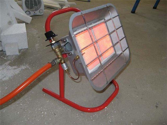 Газовое отопление гаража - Фото 04