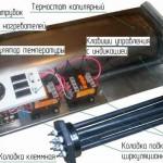 ТЭНовый элетрокотел - устройство
