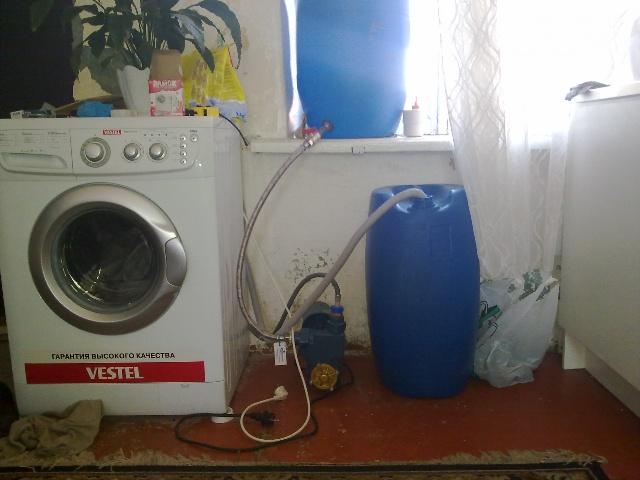 Подключение стиральной машины без водопровода - Фото 09