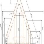 План туалета: вид спереди