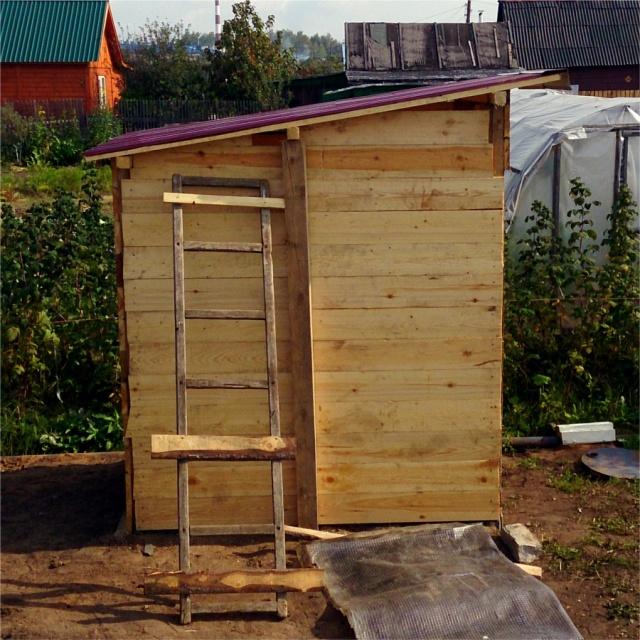 Как построить туалет своими руками пошаговая инструкция