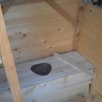 Туалет шалаш - Фото 43