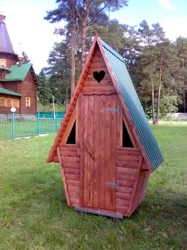 Туалеты для дачи своими руками из дерева фото чертежи 315