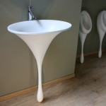 Маленькая раковина для туалета - Фото 05