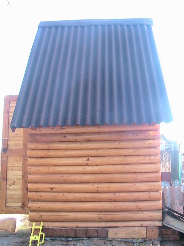 Как сделать крышу туалета своими руками фото 868