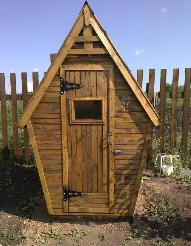 Туалеты для дачи своими руками из дерева фото чертежи 304