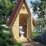 Дачный туалет - Фото 05