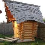 Деревянный туалет - Фото 10