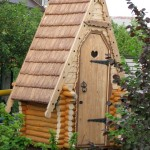 Деревянный туалет - Фото 11