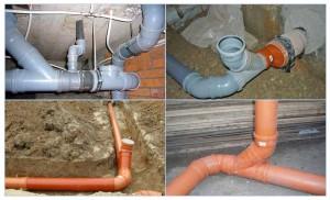 Неправильная установка или повреждение канализационной системы